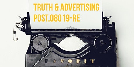 Post Session 8 Modules J,F Truth in Advertising  tickets