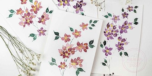 Watercolor Florals Workshop - Frühlingsblumen