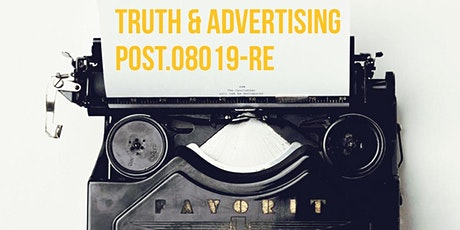POST Session 8 Modules J, F Truth in Advertsing tickets