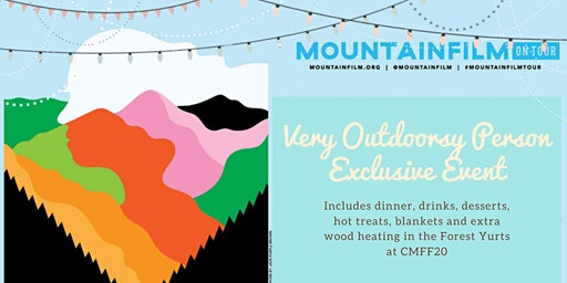 Mountainfilm on Tour - Very Outdoorsy Person Exclusive Event