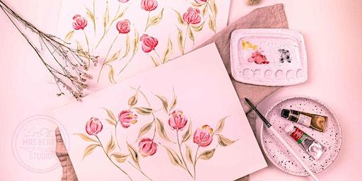 Watercolor Florals Workshop - zum Muttertag