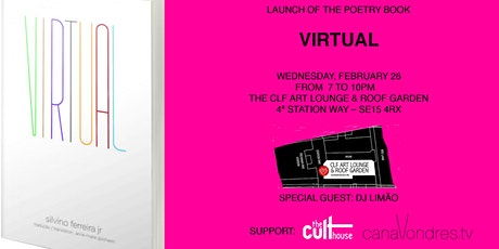 Book launch of VIRTUAL by Silvino Ferreira Jr. - by The Cult House tickets