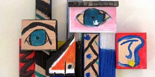 Dry Clay Collage Inspired by Picasso (2D)