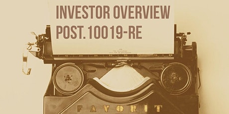 Post Session 10 Modules I,K,O Investor Overview tickets
