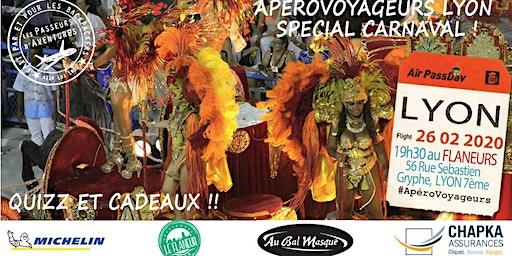 ApéroVoyageurs Lyon - Spécial Carnaval - 26 Février 2020
