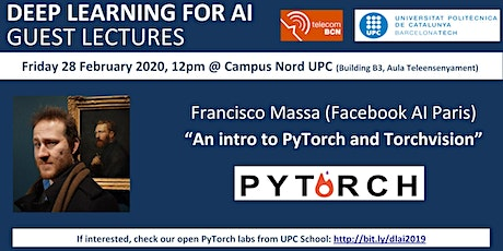 """An intro to PyTorch and Torchvision"" by Francisco Massa (Facebook AI) tickets"