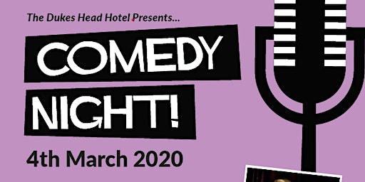 Comedy night! Register for your free ticket!