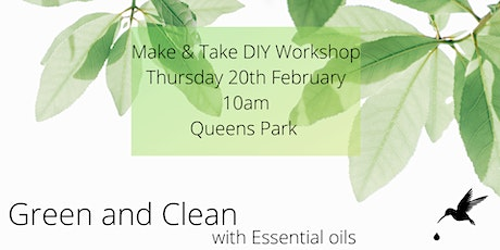 Green & Clean with Essential Oils tickets