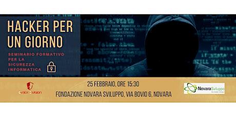 Seminario formativo : Hacker per un giorno biglietti