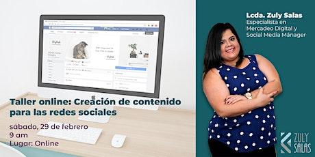 Creación de contenido para Facebook e Instagram entradas