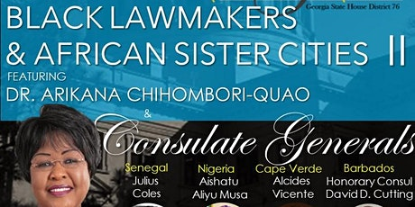 Black Lawmakers and African Sister Cities tickets