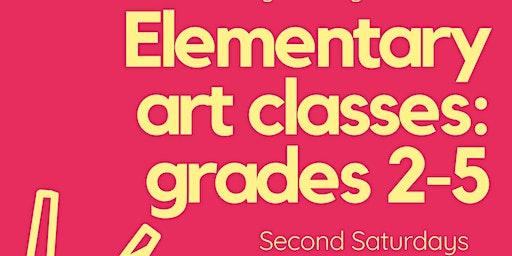 Elementary Art Class: March 14