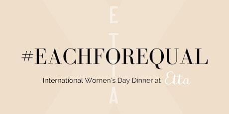 #EachForEqual Wine Dinner at Etta tickets