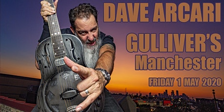 Dave Arcari live at Gulliver's Manchester tickets