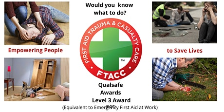 QA L3 Emergency First Aid Trauma & Casualty Care Course (RQF) tickets