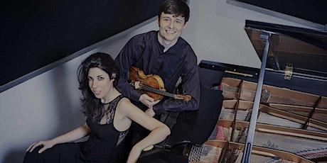 Concierto Patricia Arauzo, piano y Alejandro Bustamante, violín entradas