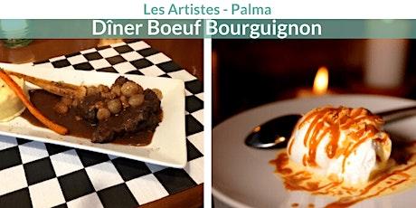 Dîner Boeuf Bourguignon - Les Artistes tickets