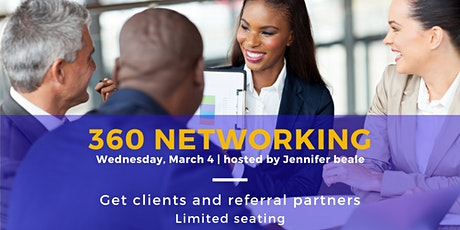 360 NETWORKING - B2B Event For Booking Sales Appointments GUARANTEED tickets