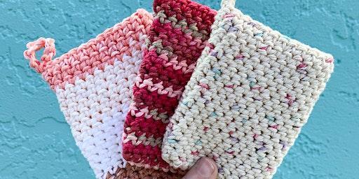Crochet Basics with Hippie Nikki - Create A Soap Sleeve!