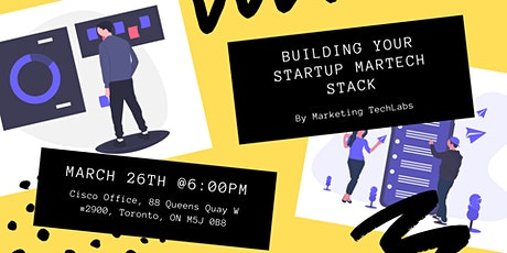 Building Your Startup MarTech Stack tickets