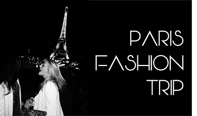PARIS FASHION TRIP bilhetes