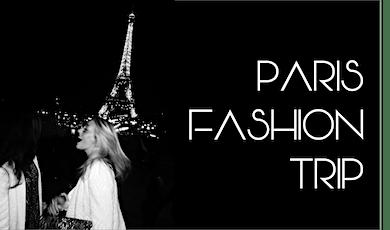 PARIS FASHION TRIP ingressos