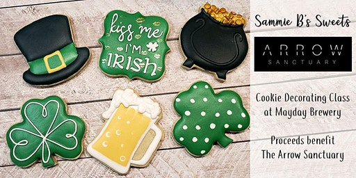 St. Patty's  Cookie Decorating Class & Fundraiser  for The Arrow Sanctuary