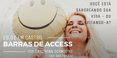 Barras de Access em Castro-PR tickets