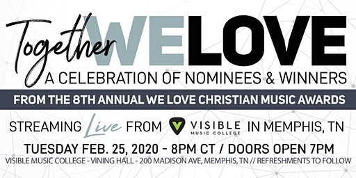 2020 LIVE We Love Christian Music Awards Show