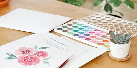 Introduction to Watercolour Florals tickets