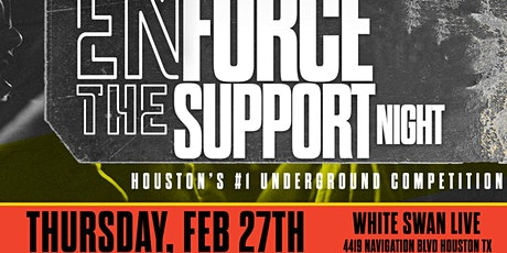 Enforce The Support Night tickets
