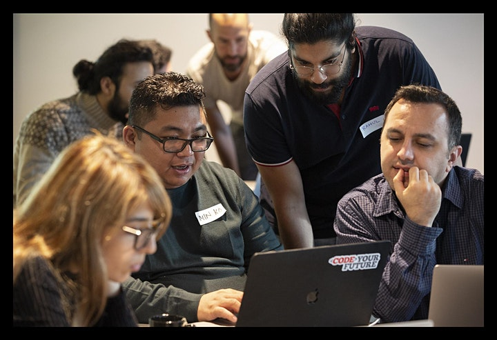 Volunteer with CodeYourFuture - Find Out More! image