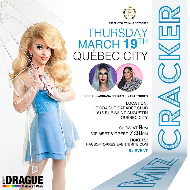 Miz Cracker in Quebec City image