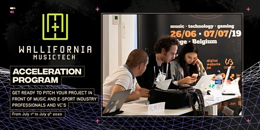 Wallifornia MusicTech - Acceleration Program 2020