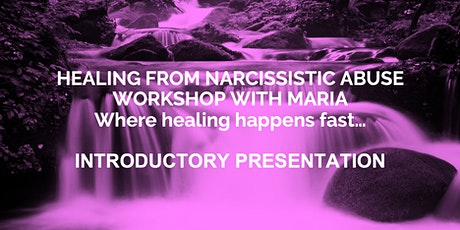 Healing from Narcissistic Abuse Presentation tickets