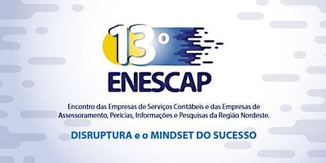 13º ENESCAP entradas