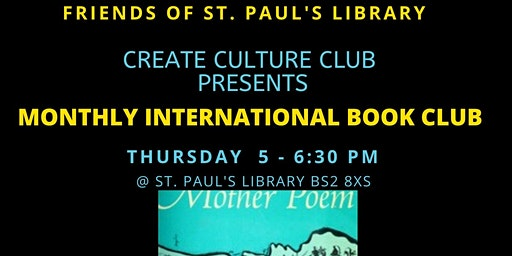 Create Culture Club: Monthly International Book Reading Club