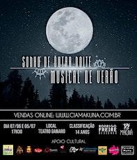SONHO DE OUTRA NOITE MUSICAL DE VERÃO (05/Julho) ingressos