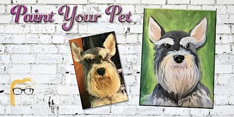 Rescheduled Paint Your Pet - Lauren's Art Club tickets