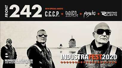 INDUSTRAFEST 2020 featuring FRONT 242 tickets