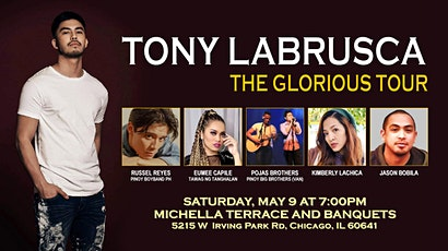 Tony Labrusca Glorious in Chicago tickets