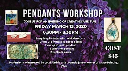 Pendants Workshop tickets