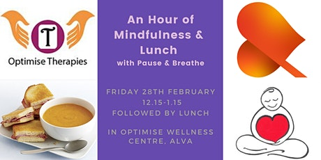 An Hour of Mindfulness & Lunch - Alva tickets
