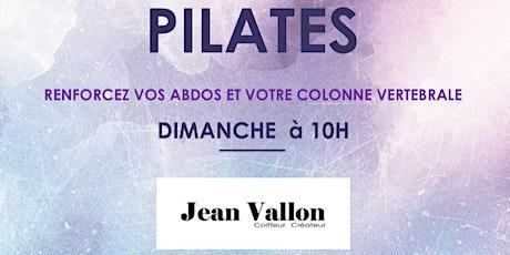 Cours de Pilates Matwork billets