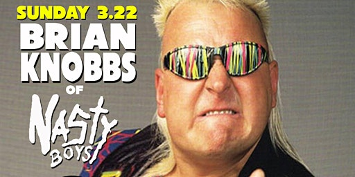 WWE Superstar Brian Knobbs of The Nasty Boys