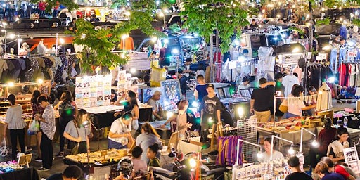 1:1 (Dating) to Chatuchak Night Market in Singapore