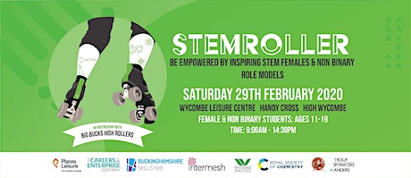 STEMroller - empowering female / non-binary students (aged 11 - 19) tickets