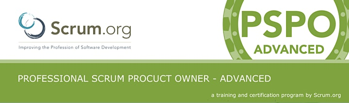 Image pour Formation Professional Scrum Product Owner Advanced & examen PSPO-2