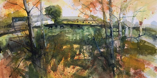 'Town and Country' A watercolour  workshop with artist Robert Newton