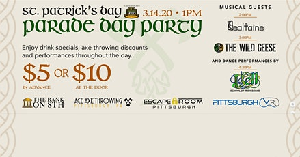 Parade Day Party! tickets